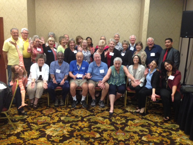 Here's some of our dedicated Senior Medicare Patrol team, ready to serve you and stop fraud! :-)