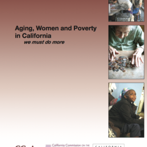 Women, Aging & Poverty ~ a Disturbing Reality