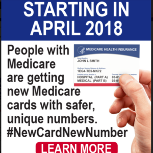 New Medicare Cards Coming to Californians April – June 2018