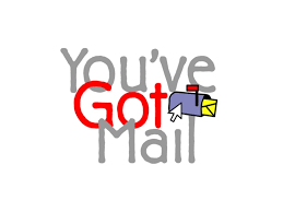 CHA-you've got mail