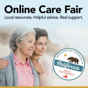 Join Us at Online Care Fair, 11/15 from 2-5 p.m. ~ Free Resources for Caregivers