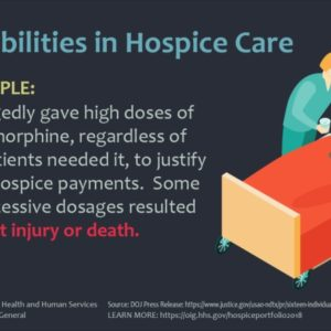 Beneficiaries Pay the Price for Hospice Fraud