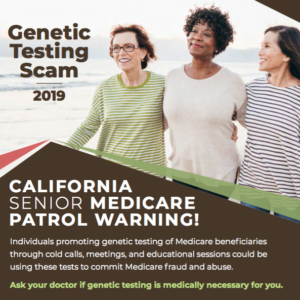 New Fraud Alert in 9 Languages ~ Beware of Genetic Testing Scams