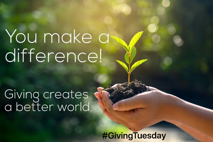 #GivingTuesday ~ A Global Day to Give & Spread Goodness!