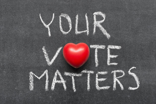 chalk with heart, your vote matters