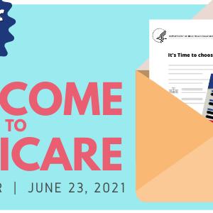 Medicare Virtual Fair graphic for registration
