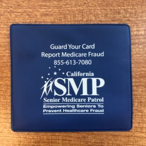 pic of an SMP vaccine card holder