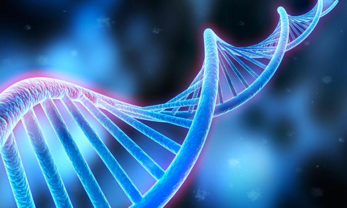 DNA sequence, DNA code structure - Medical 3d Illustration