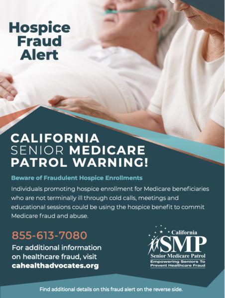 pic of hospice fraud alert